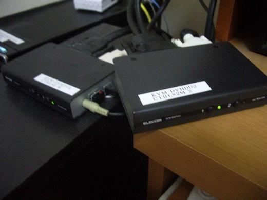 パソコン切替機 KVM-DVHDU2